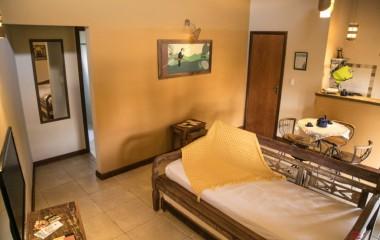 Sala chalé com divisória - Vila Chico Hotel Fazenda